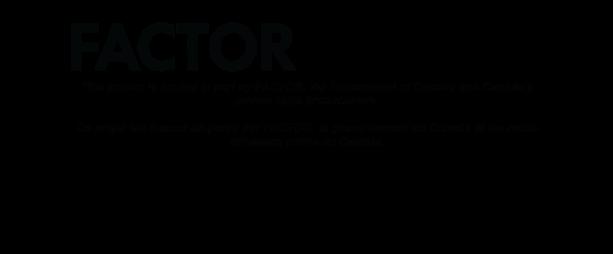 factor credits website black